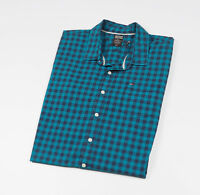 Tommy Hilfiger DENIM Mens Blue checked Casual Shirt, long sleeved Size XXL