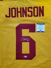 Tyler Johnson autograph signed jersey Minnesota Gophers Tampa Bay Bucs Xl Coa