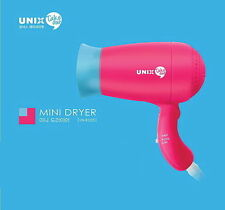 Unix Portable Mini Hair Dryer Styler Styling Tool Travel Foldable Compact