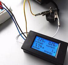 AC 80-260V LCD Digital 20A Volt Watt Power Meter Ammeter Voltmeter PZEM-021