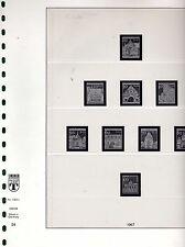 Lindner  Vordr. Berlin  1967 - 1990 - System T in RB - NP  210,-- € ( Z389 )