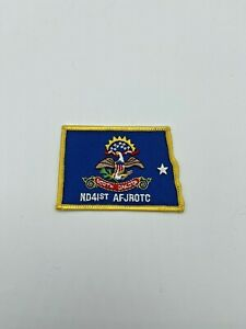 North High School ND41st AFJROTC Award Patch Badge North Dakota AF JROTC