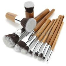 Professional Cosmetics Brush Set For Liquid Foundation Powder Blush Kabuki eyes