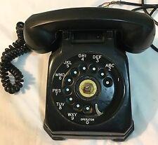 Vintage Black Rotary Dial STROMBERG-CARLSON Telephone Table Desk Phone