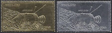 NAGALAND (Inde) Timbres or & argent Apollo Espace, gold & silver stamps Space NH