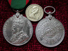 Replica Copy GV Visit to Ireland Medal 1911 July 7-12  Full Size Aged