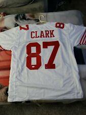 Dwight Clark Autographed White CUSTOM Jersey