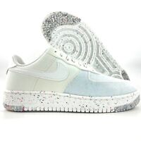 W Nike Air Force 1 Crater Summit White Blue CT1986-100 Women's 9.5