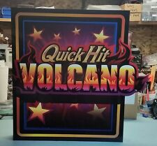 BALLY Slot Machine LED Light Up Sign QUICK HIT VOLCANO