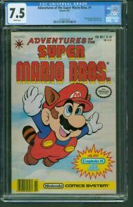 Adventures of the Super Mario Bros. #1 (DC 1991) CGC 7.5 Nintendo