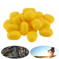 20x Silicone Full Floating Corn Lure Baits Fake Soft Lures Carp Artificial Baits