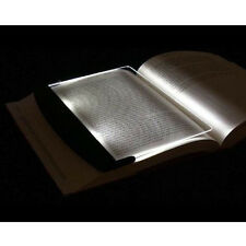 1PC Portable LED Read Panel Light Book Reading Lamp Night Vision For Travel