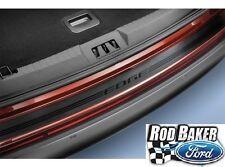 15 thru 18 Edge OEM Genuine Ford Parts Black Rear Bumper Protector with Logo