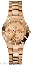 GUESS Women's Feminine Hi-Shine Rose Gold-Tone Mid-Size Watch U13013L1