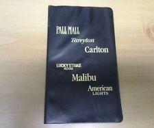 Pall Mall, Tareyton, Carlton, Lucky Strike, Malibu, American Address Book