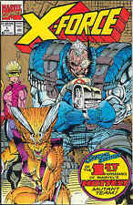 X-Force # 1 (2nd printing, metallic ink cover) (Rob Liefeld) (USA, 1991)