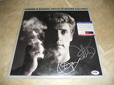 Roger Daltrey The Who Raging Moon Signed Autograph LP Album Record PSA Certified