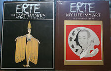 ERTE MY LIFE / MY ART, ERTE THE LASTWORKS, + INVITATION DYANSEN BEVERLY HILLS