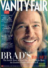 VANITY FAIR,Brad Pitt,Ireland Baldwin,Oscar Pistorius,Steven Cohen,Carla Bruni