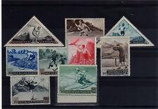San Marino 1953 Serie 391 - 98 + A111 Sport 1° serie + posta aerea MNH