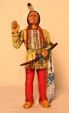 """Comansi of The Wild West Hand Painted 7"""" Action Figure Sitting Bull"""