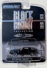 GREENLIGHT BLACK BANDIT SERIES 9 1977 PONTIAC FIREBIRD TRANS AM 1/4500