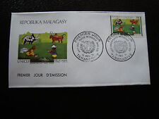 MADAGASCAR - enveloppe 11/12/71 - unicef - yt n° 495 - (cy4) (E)