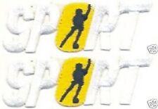 Inline Roller Skating Sports Embroidery Patch