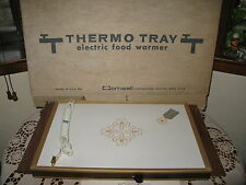 Vintage Cornwall Thermo Tray #1101 1971 Functional w/ Hot Spot USA 175W NIB