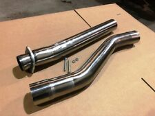 STAINLESS 03-07 Ford Powerstroke F250 F350 Muffler and Cat DELETE Pipe 6.0 KIT