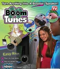 Boom Tunes Turn Anything into a Speaker As Seen TV Ipod Smart Device Phone USB