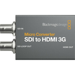 Micro Converter SDI to HDMI 3G PSU with Power Supply - Ships from Miami