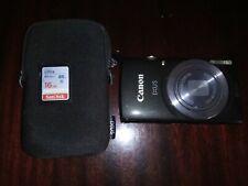 Camara Canon Ixus 160 - 20MPS - optical zoom x8 - tarjeta 16GB, funda y cargador
