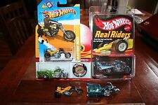 Hot Wheels Motorcycles/Trikes RLC Classics First Edition Lot X 5 Two Loose