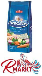 "Podravka ""Vegeta"" Würzmischung 500 g Gewürze Suppe Bullions Sauce Fleisch Fisch"