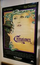 "Chinatown Jack Nicholson Movie Poster 40""x26"" Used Video poster"