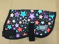 AXIOM 1800D FANCY STAR WATERPROOF WARM DOG COAT SIZE 40cm