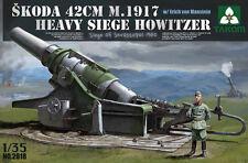 Takom 1/35 2018 Skoda 42cm M.1917 Heavy Siege Howitzer