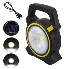 50W Solar Power LED COB Flood Light USB Rechargeable Lanterns Lamp Light OK