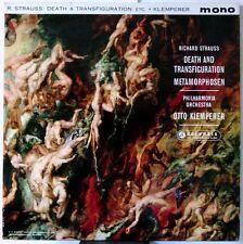 Death & Transfiguration Metamorphosen (33CX 1789)  by Strauss Klemperer
