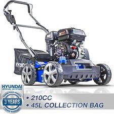 More details for petrol scarifier lawn aerator scarifier raker machine 210cc 2in1 hyundai