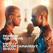 ROBBIE WILLIAMS 'HEAVY ENTERTAINMENT SHOW' CD (2016)