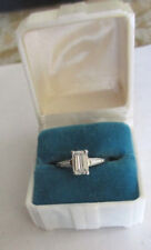 1.31 Ct Platinum Diamond Engagement Ring Center=1.01 F-SI2 Enhanced Value=$9K+