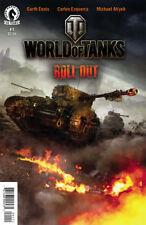 WORLD OF TANKS #1 DARK HORSE COMICS FIRST PRINT Garth Ennis  XBOX PS4 World War2