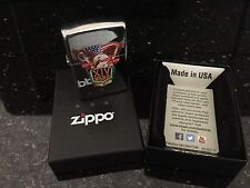 100% AUTHENTIC - NEW -  ZIPPO Lighter with WEST POINT Class of 2014 Crest