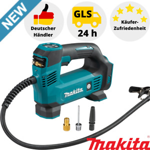 Makita Akku Kompressor DMP180Z 18V 8,3 bar Druck Luftpumpe für Auto Reifen Solo