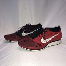 Nike Flyknit Racer University Red White US 11 EUR 45 29cm Mens Running RARE