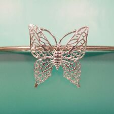 "1 1/2"" Butterfly 925 Sterling Silver Handmade Pendant"