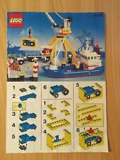 Vintage Lego Town 6541 Harbour Intercoastal Seaport - Instruction Manual Only