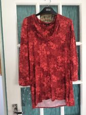 East Ladies Tunic Top Size 16